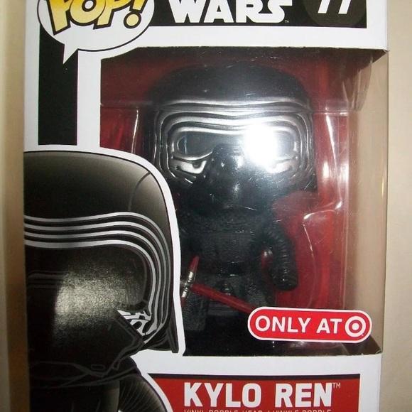 FUNKO Kylo Ren Funko Pop Target Exclusive Star Wars The Force Awakens #77